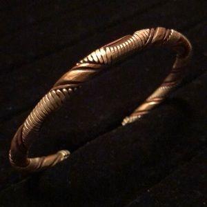 Other - Mixed Metal Twist, Snake Style Bracelet